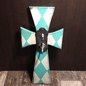 Wooden Cross With Hook